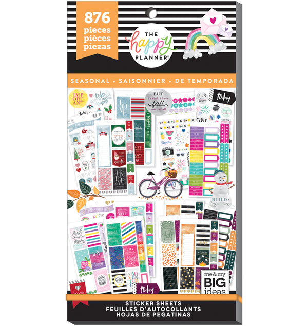 All in a Season Planner Sticker Pack (876pcs)
