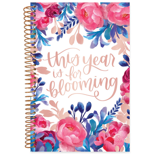 Bloom This Year Is For Blooming 2020 Soft Cover Daily Planner