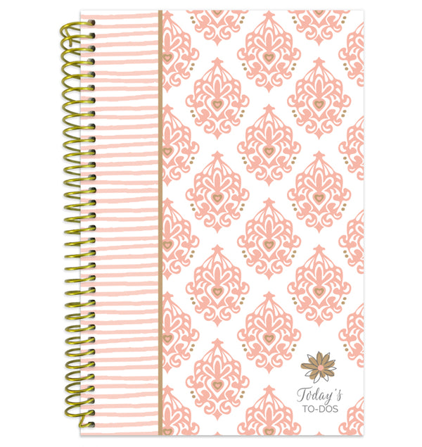 Bloom's Pink & Gold Today's Bound To Do Planner Book