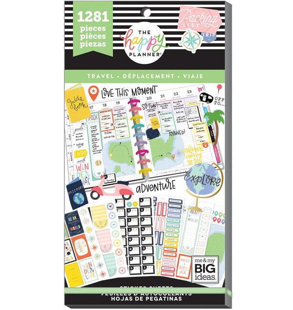 Travel Planner Sticker Pack (1281pcs)