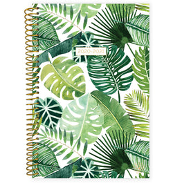 Tropical Palm Leaves 2020-2021 Soft Cover Daily Planner