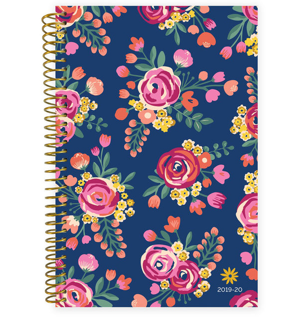 Vintage Floral 2019-2020 Bloom Soft Cover Planner
