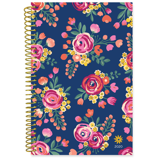 Bloom Vintage Floral 2020 Soft Cover Daily Planner