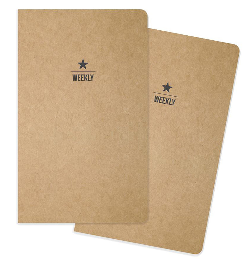 Carpe Diem Weekly Traveller's Notebook Inserts
