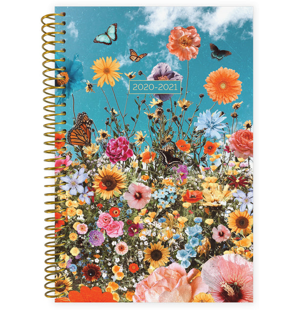 Wildflowers 2020-2021 Soft Cover Daily Planner