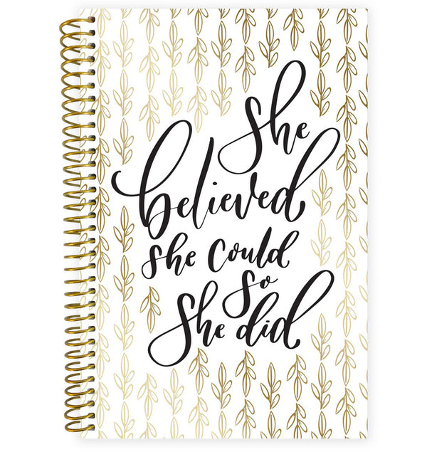 Writefully His 2019-2020 Bloom Soft Cover Daily Planner