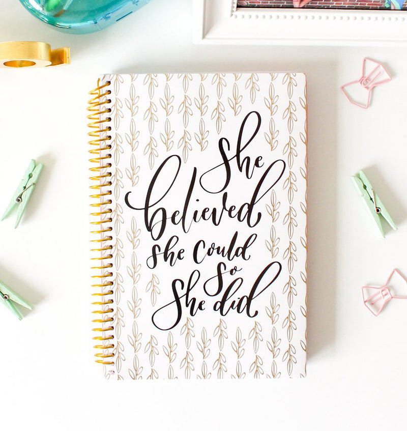 Writefully His 2019-2020 Bloom Soft Cover Daily Planner Cover