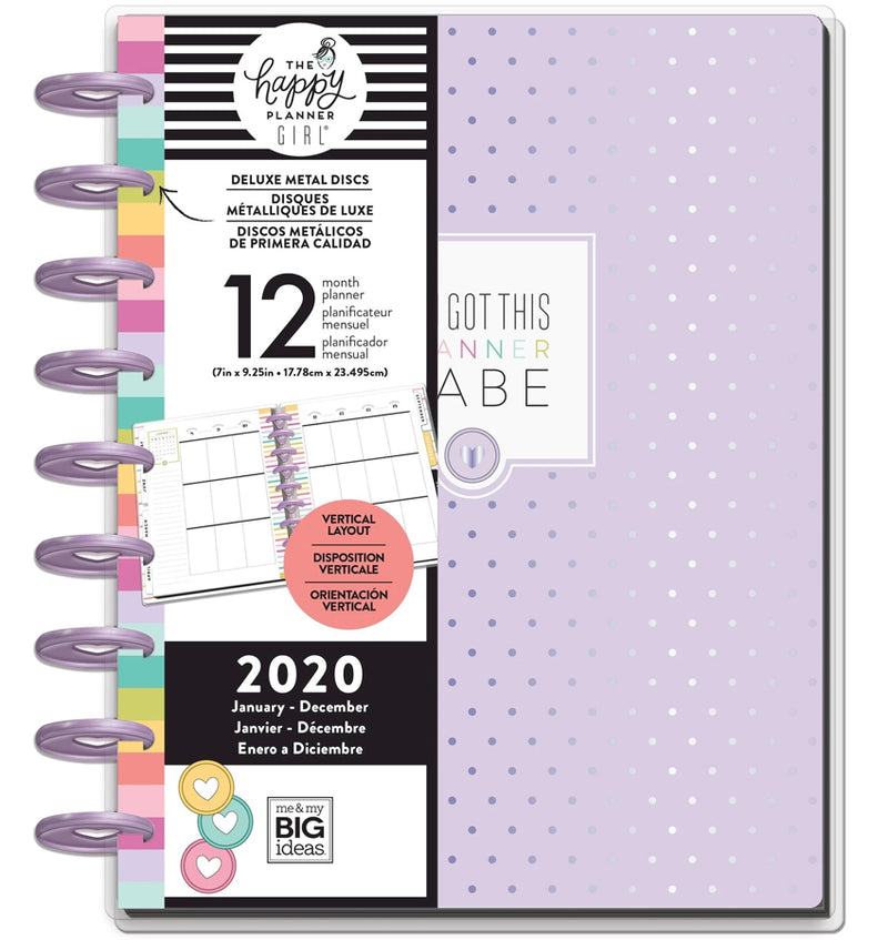 You Got This Planner Babe 2020 Deluxe Classic Medium Happy Planner