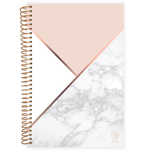 Blocking Marble 2019 Soft Cover Daily Planner