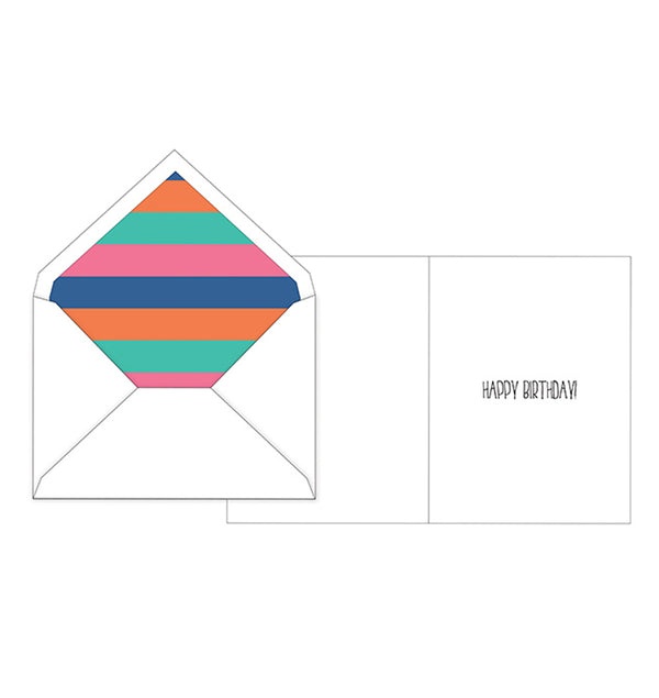 Single Special Day Birthday Greeting Card with Envelope