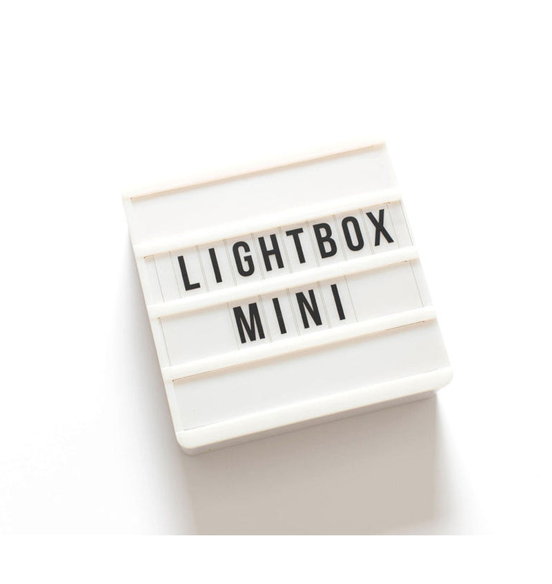 "Heidi Swapp Lightbox Mini Kit 6"" x 6"" Actual Product Image with Letters, 4 Layers"