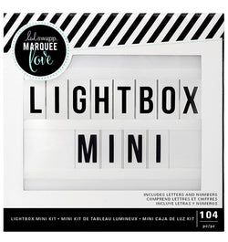 "Heidi Swapp Lightbox Mini Kit 6"" x 6"" (100 Letters & Numbers) Packaging at Craftforher"