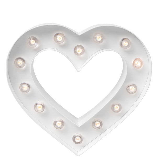 "Heidi Swapp Marquee Love Heart Shape 8"" Light Kit Actual Product at Craftforher"