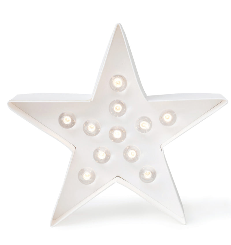 "Heidi Swapp Marquee Star Shape 8"" Light Kit Actual Product at Craftforher"