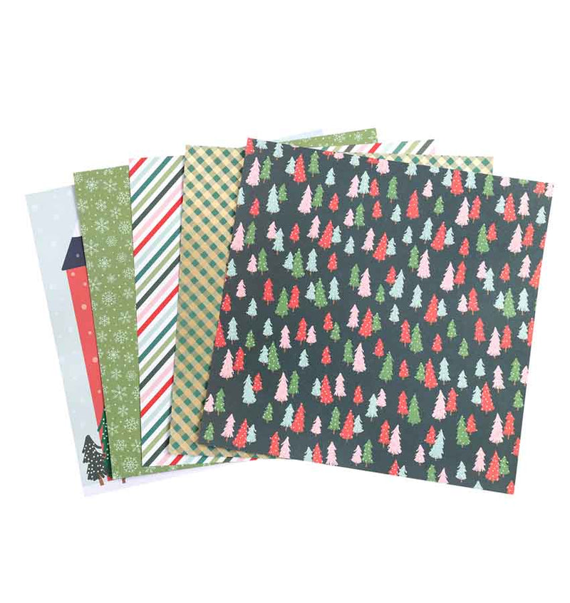 Merry Little Christmas 12 x 12 Paper Pad 36pcs