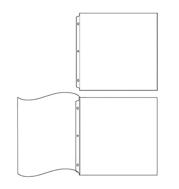 We R Memory Keepers 12 x 12 Page Protectors Combo Pack (20pcs)