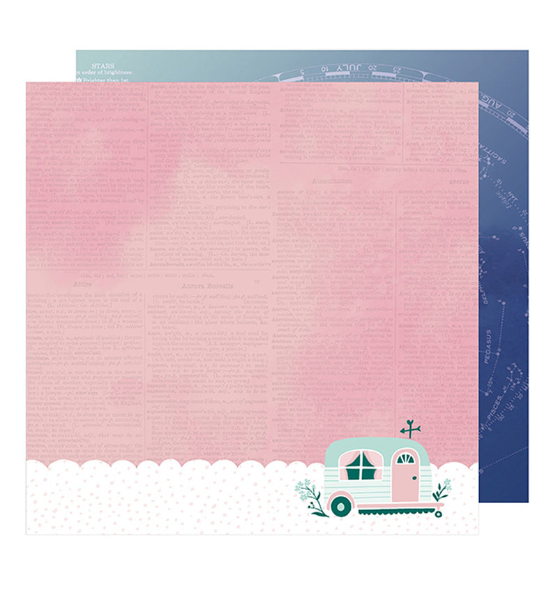 American Crafts Magical 12 x 12 Double Sided Paper