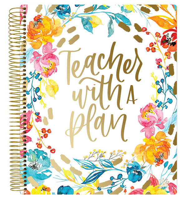 Teacher with A Plan Undated Teacher Planner