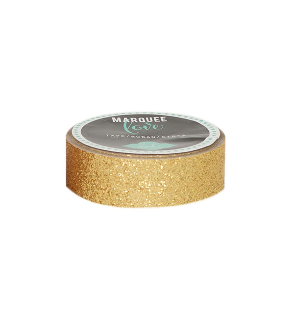 Heidi Swapp Gold Glitter Washi Tape 0.875inch wide