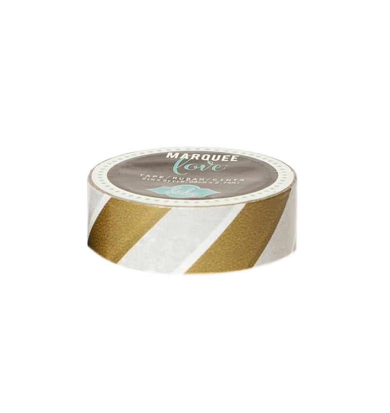Heidi Swapp Gold Stripe Washi Tape 0.875inch wide