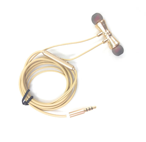 iCare Magnetic Earphones HF 37 Gold
