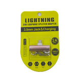 Lightning 2in1 Earphone Splitter Adapter AC 30