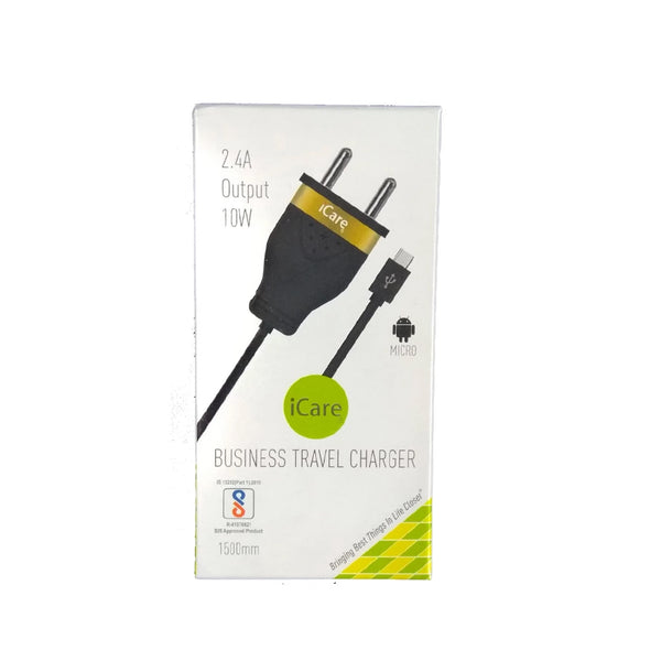 iCare Micro Travel Charger ICH 03 Black