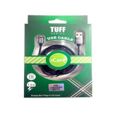 iCare Tuff Series iOS Usb Cables 1.5m DC 73 Black (2.4A)