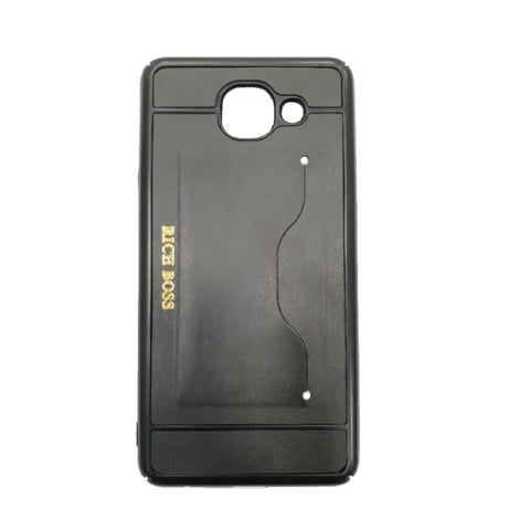 iCare Rich Boss Back Cover for Samsung J7 Max BK 85 Black