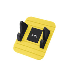 iCare Car DashBoard Phone Holder (Yellow)