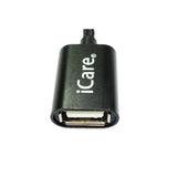 iCare Type C OTG Cable CN 32 Black