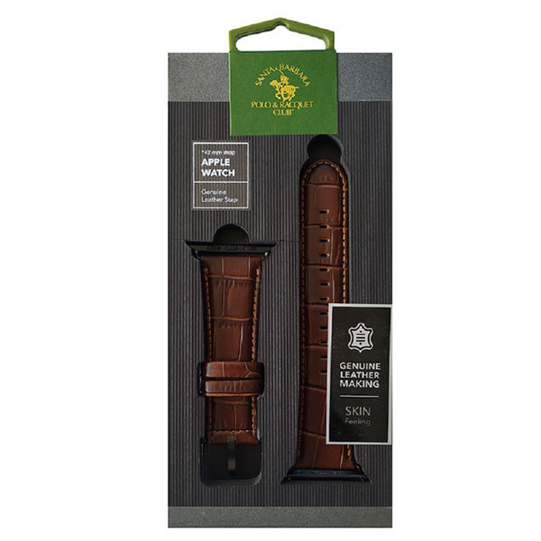 Santa Barbara iWatch Belt - Brown