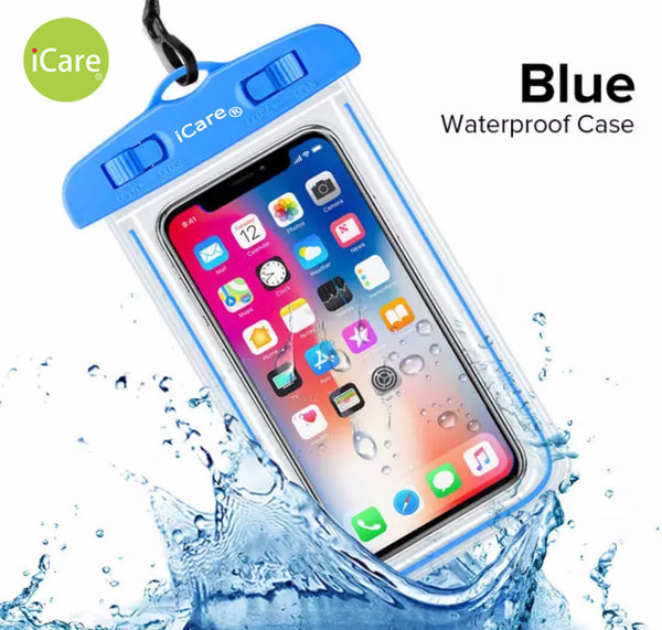 iCare Mobile Phone Water Safety Case (Blue)