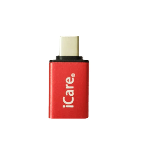 iCare Type C Metal OTG CN 67 Red