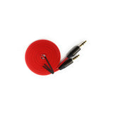 iCare 3.5mm Aux Audio Cable 1.5M DC 71 Red