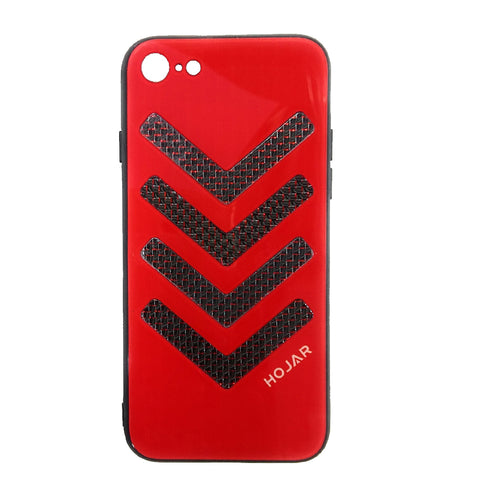 iCare Hojar V Back Cover for iPhone 7 / iPhone 8  BK 121 Red