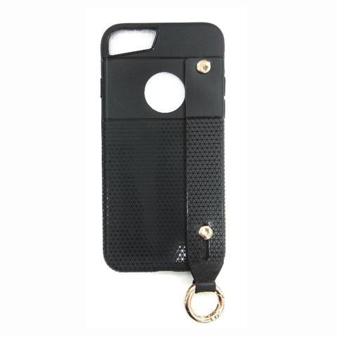 iCare i-Zore Grip Case With Ring Holder - iPH 7 Plus SN 87 Black