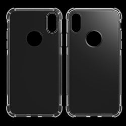 iCare iPhone X Clear Corner Silicone Cover