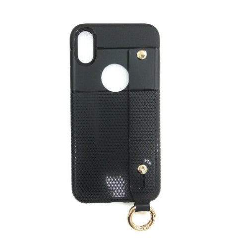 iCare i-Zore Grip Case With Ring Holder- iPH X SN 87 Black
