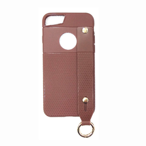 iCare i-Zore Grip Case With Ring Holder- iPH 7 Plus SN 87 Brown