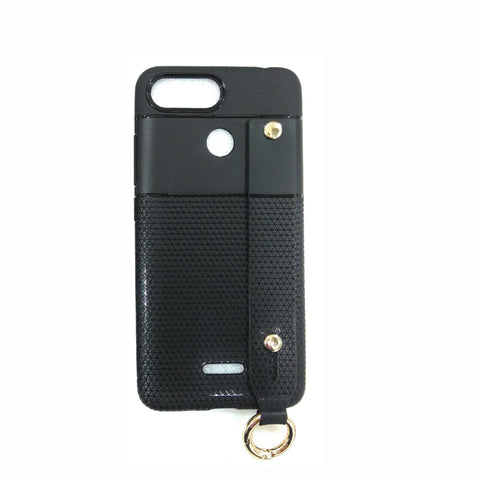 iCare i-Zore Grip Case With Ring Holder - RedMi 6 SN 87 Black