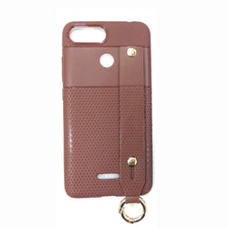 iCare i-Zore Grip Case With Ring Holder - RedMi 6 SN 87 Brown