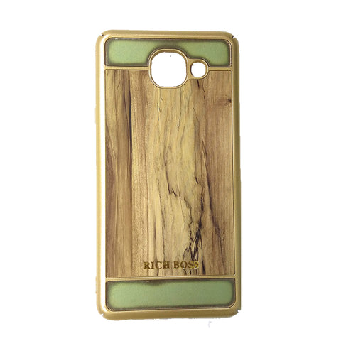 iCare Rich Boss Wood Series Back Cover for Samsung J7 Max BK 85