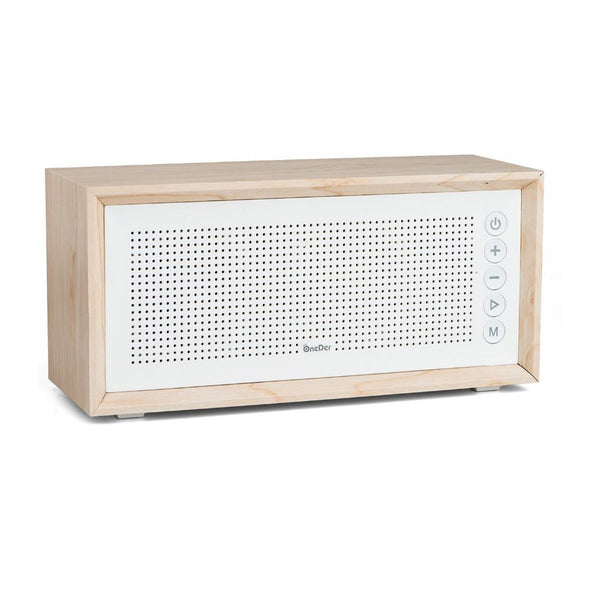 iCare Music Speaker V2- Golden Oak