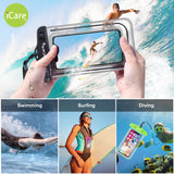 iCare Mobile Phone Water Safety Case (White)