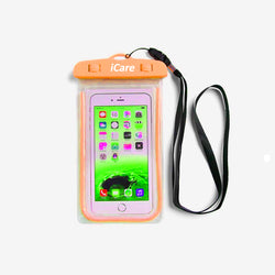 iCare Mobile Phone Water Safety Case (orange)