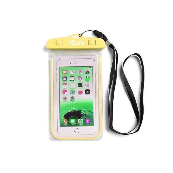 iCare Mobile Phone Water Safety Case (yellow)