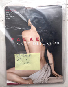 Pantyhose of CANDICE from 2017-01(2) - FALKE Matt Deluxe 20
