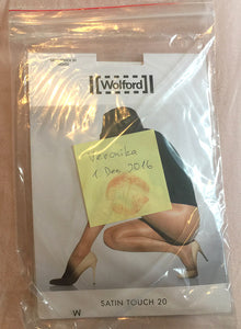 Pantyhose of VERONIKA 2017-03 - Wolford Satin Touch 20