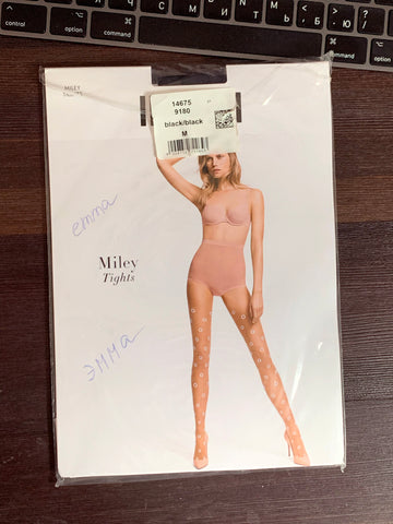 PANTYHOSE of EMMA 2019-07(2) Wolford Miley Black
